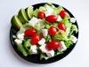 salade colorée et appétissante